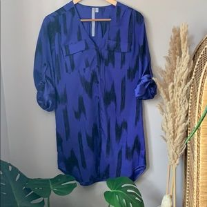 80's Vibes Oversized Shirt Urban Outfitters Size S